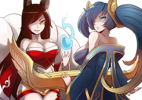 Sona Ahri by LataeDelan