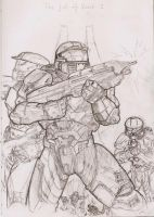 WIP 'Halo:The Fall of Reach' by Astaldour