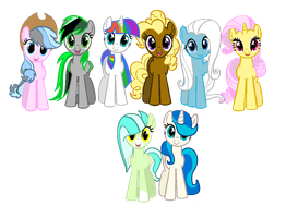 MLP FIM Adopts :OPEN: 2 left by cutebutnerdy