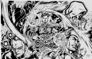 Dr Strange by Inker-guy