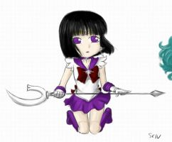 Sailor_Saturn by SkivTheGreat