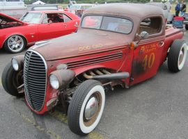 39 Ford 'Rat Rod' by zypherion