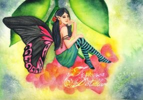 Exotic fairy by Gwennol