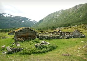 Old Mountain Farm by Navanna