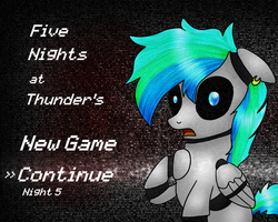 Five Nights at Thunder's by CKittyKat98