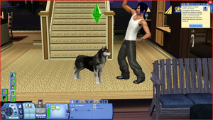 Sims 3, Luca and Haaska by Psykhe-kun