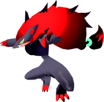 Zoroark -RM- Custom Artwork V1.3 by PrimalMoron