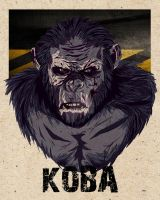Koba: Dawn of the Planet of the Apes by DangerDayne93