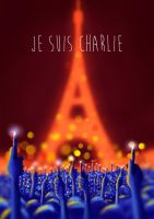 Je suis Charlie by DominicDrawsArt