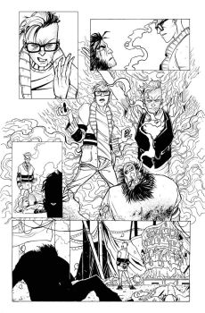 WOLVERINE AND THE X-MEN PAGE by JorgeFornes