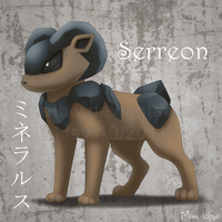 Serreon :Fan Pokemon: by BlazeTBW