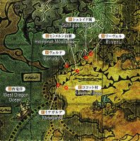 Monster Hunter Official Map Part2 Scrade region by Pike-Styles