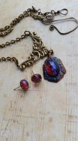 Kiss of Magic Necklace with Earrings Set by artistiquejewelry