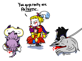 My Pathetic Pals by sforzie