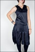 Beaded Flapper Dress I by Betwixt779
