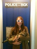 10th Doctor Cosplay With Cat (WIP/ID) by SkyTheEskimo