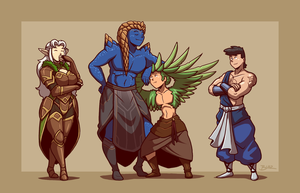 Aultemus and Crew by Blazbaros