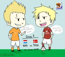World Cup- NED vs DEN by Originalatorian