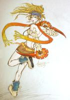 FFX-2 Rikku:Amano Style by ReeveLy