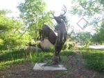 The Statue of Stags by RockinPyroGal