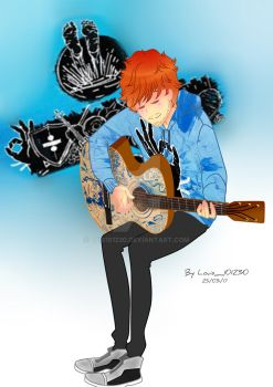 Ed Sheeran Divide by Luis101230