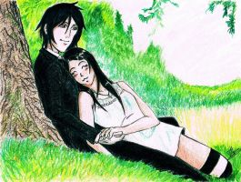 Sebastian Michaelis and MiChan by Felix-Alvarez