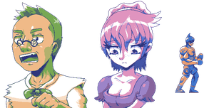 More sprites for my game 2 by Pokekoks