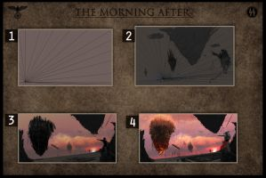 2012, The morning after by Burtbackerack