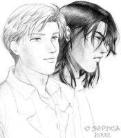 remus and sirius by Sophea