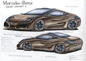 Mercedes-Benz Coupe Design Concept II by toyonda