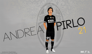 Pirlo Vector and Wallpaper by LayerGraph