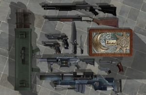 'Resident Evil: Remake' REmake Weapon Pack XPS!!! by lezisell