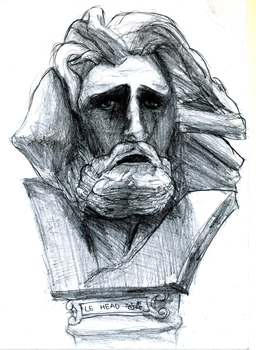 still life drawing - clay sculpture by pehlx94