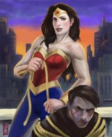 Wonder Woman by scuttered