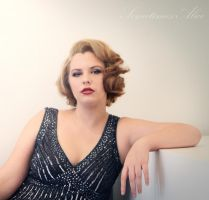 Vintage/Pin-Up Hair and Make-Up by SometimesAliceFX