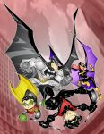 batman family by kevtoons