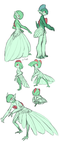 Feathery Ralts by tashcrow