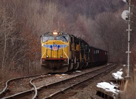 UP coal train by cove314