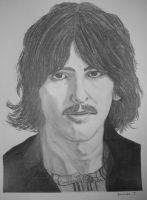 George Harrison by donna-j