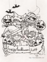 halloween2014! by hvn7tg