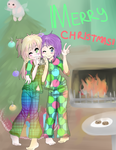 .:Christmas Morning:. by xXLuca-ChanXx