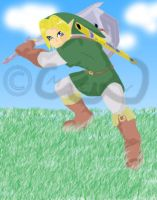 LoZ- Link by mel-lyks-cereal
