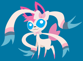Sylveon by DayzeeHead