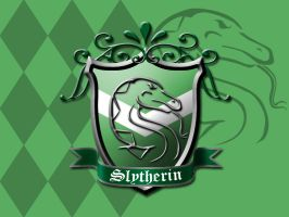 Slytherin House Crest by ajb3art