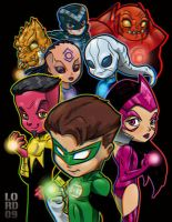 Spectrum Lanterns 3D by lordmesa