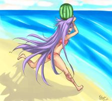 To The Beach by MoonlightTheWolf