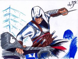 Toon Altair Assassination by EmoHoodieDude