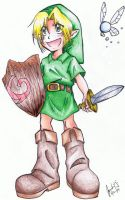 Young Link by NyappyKanon