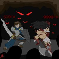 Dungeons and Demons by Aliessa