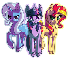 MAGIC TRIO by Tami-Kitten